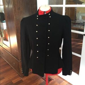 Gorgeous WHBM Military-style sweater